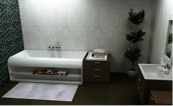 אמבטיות מעוצבות